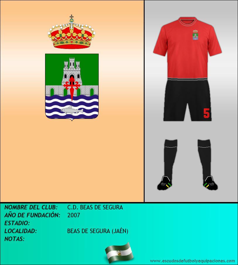 Escudo de C.D. BEAS DE SEGURA
