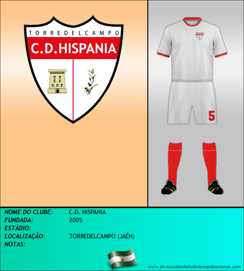 Escudo de C.D. HISPANIA
