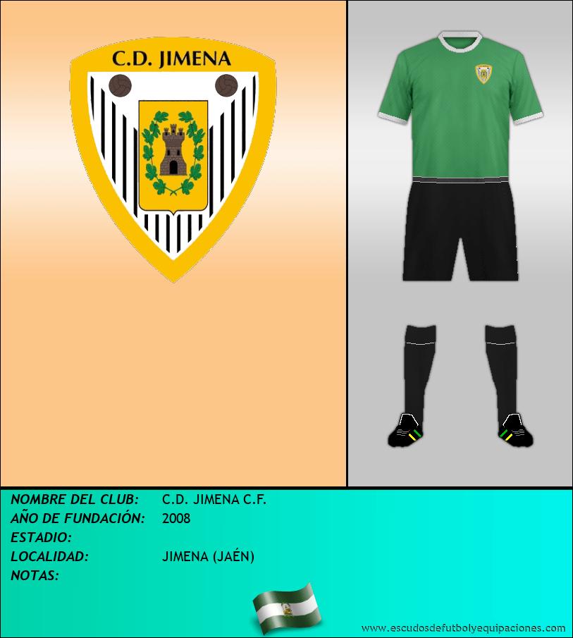 Escudo de C.D. JIMENA C.F.