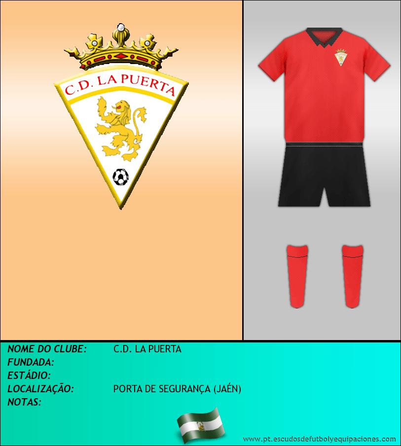 Escudo de C.D. LA PUERTA