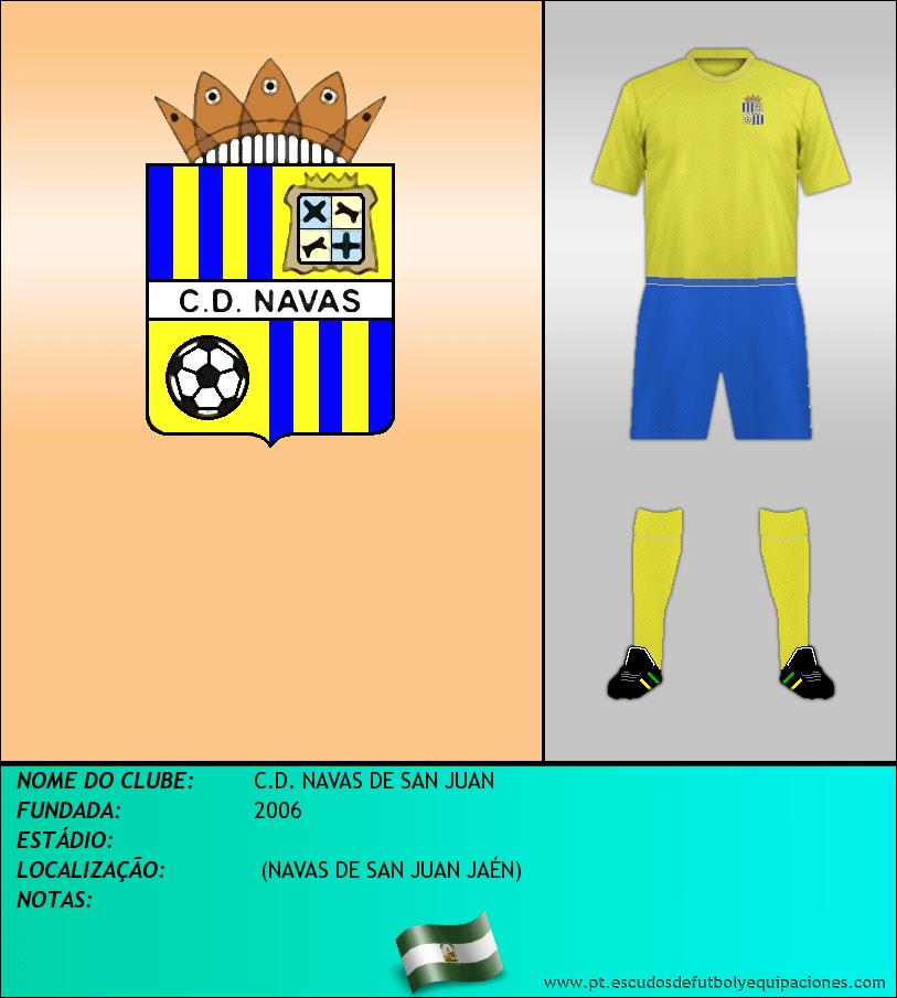 Escudo de C.D. NAVAS DE SAN JUAN