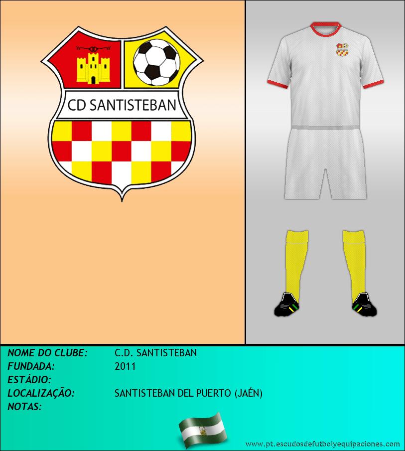 Escudo de C.D. SANTISTEBAN