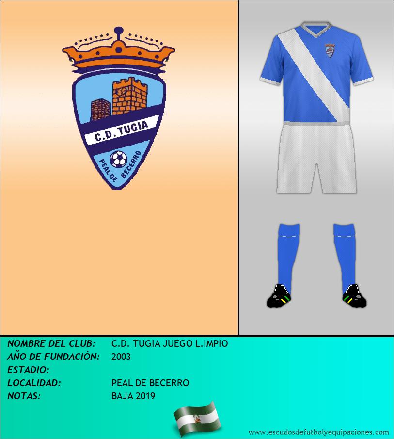 Escudo de C.D. TUGIA JUEGO L.IMPIO