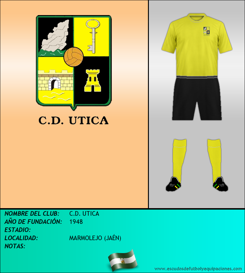 Escudo de C.D. UTICA