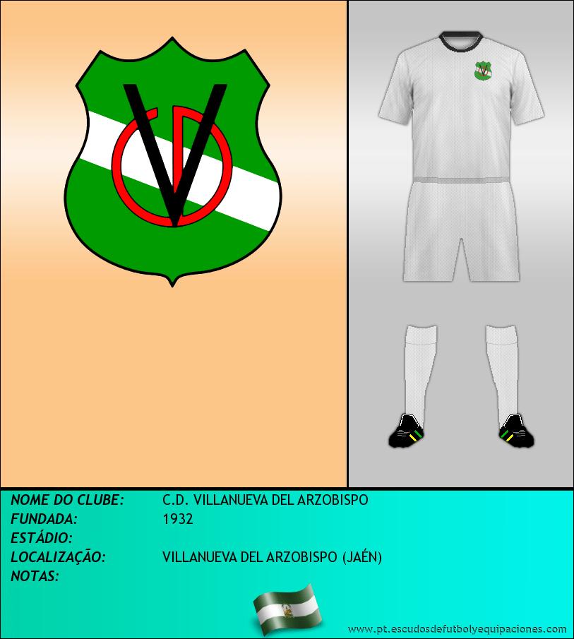 Escudo de C.D. VILLANUEVA DEL ARZOBISPO