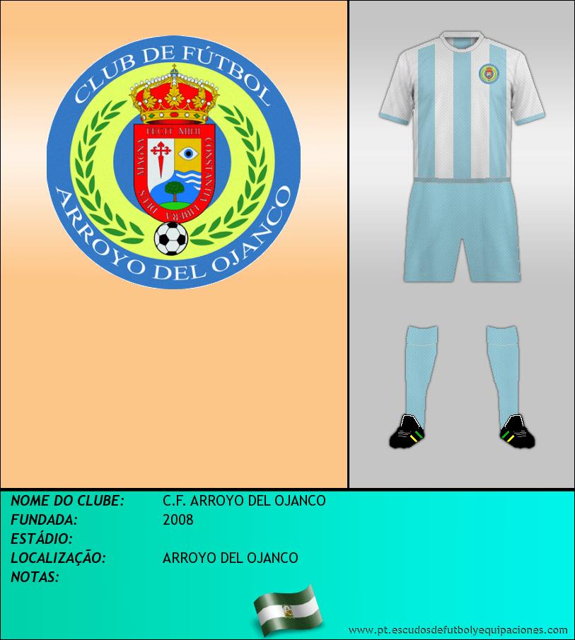 Escudo de C.F. ARROYO DEL OJANCO