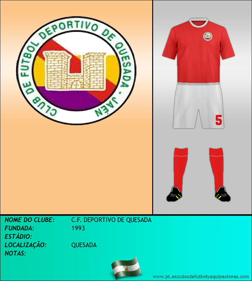 Escudo de C.F. DEPORTIVO DE QUESADA
