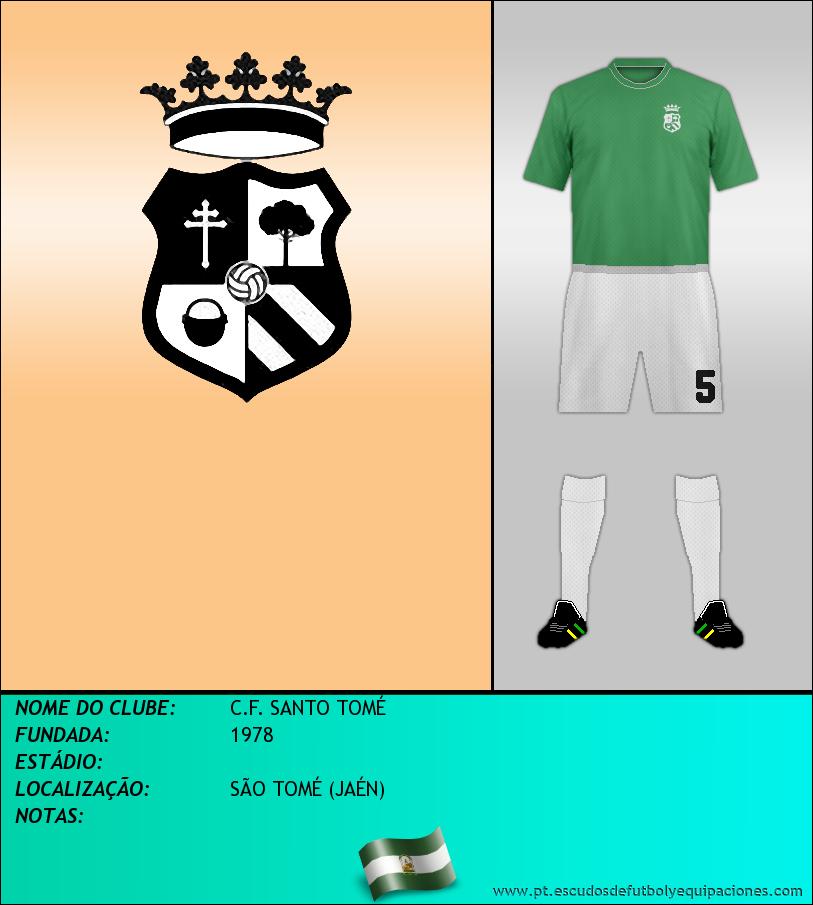 Escudo de C.F. SANTO TOMÉ