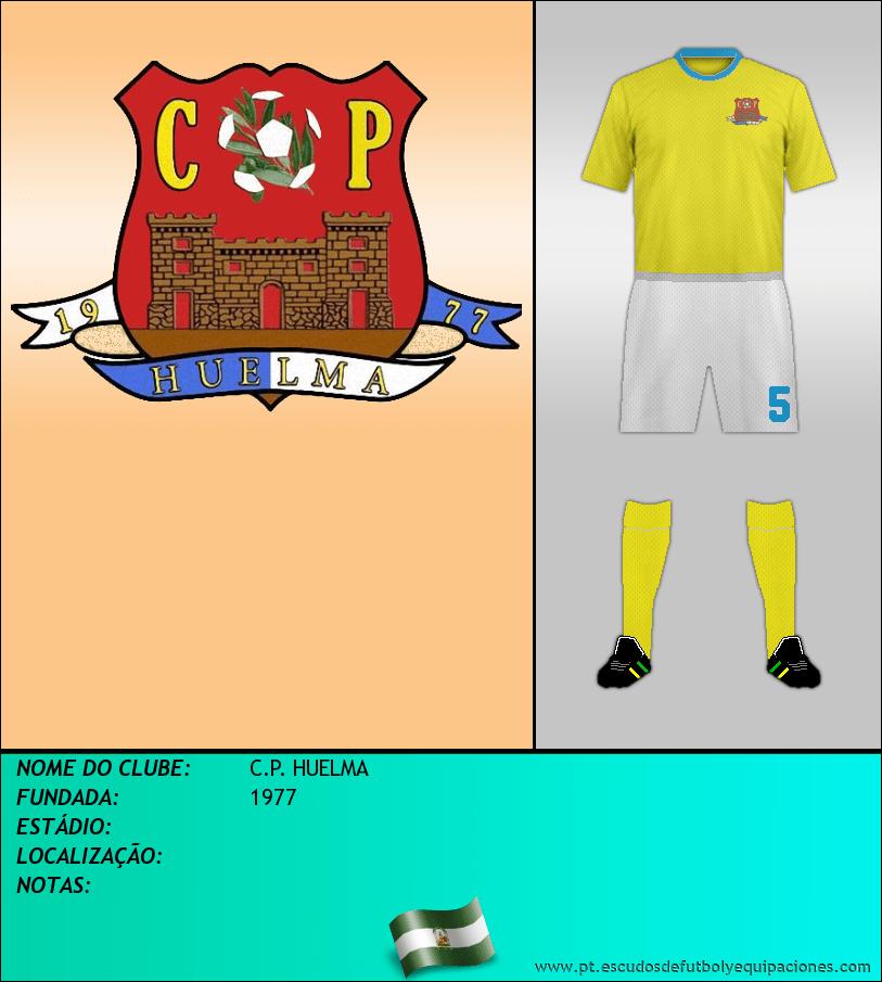 Escudo de C.P. HUELMA