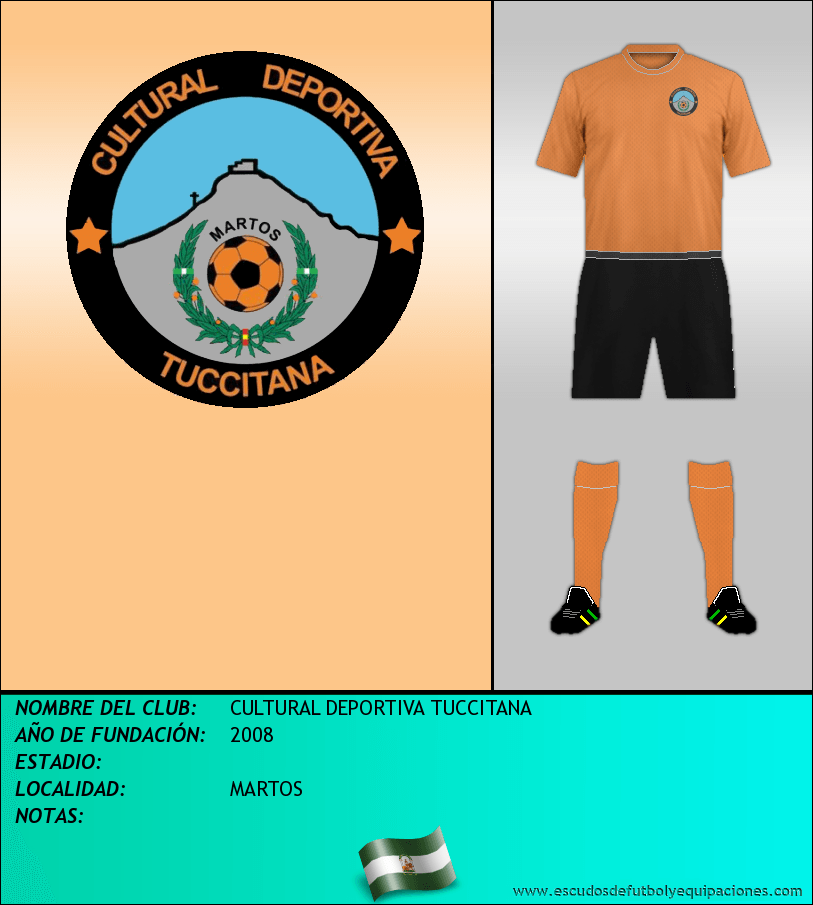 Escudo de CULTURAL DEPORTIVA TUCCITANA