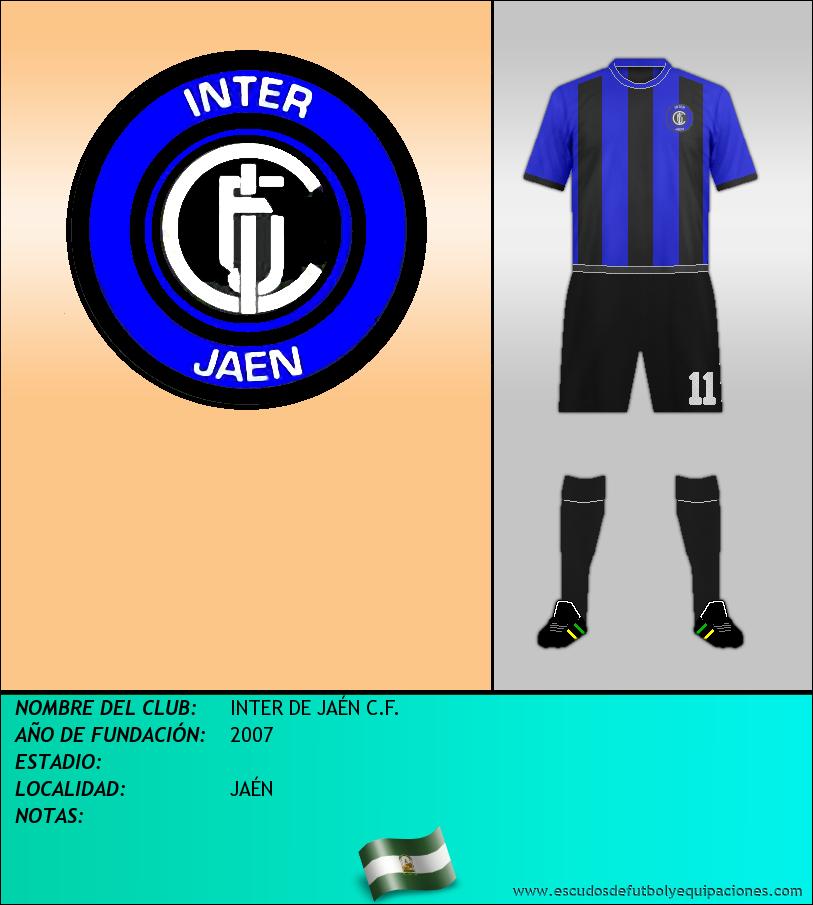 Escudo de INTER DE JAÉN C.F.