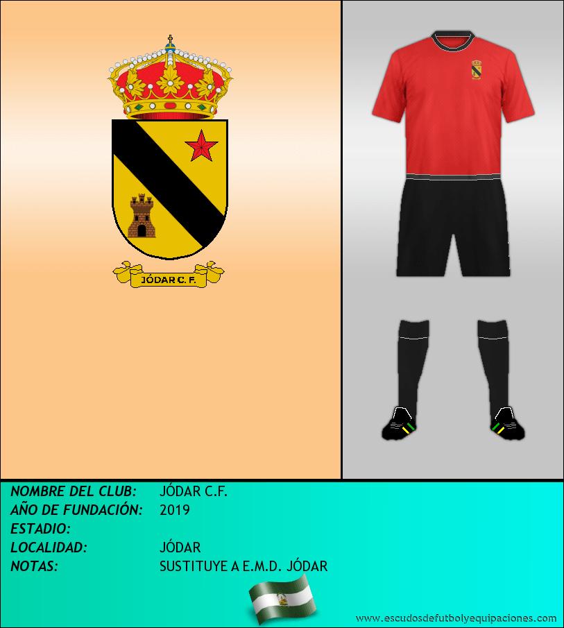 Escudo de JÓDAR C.F.