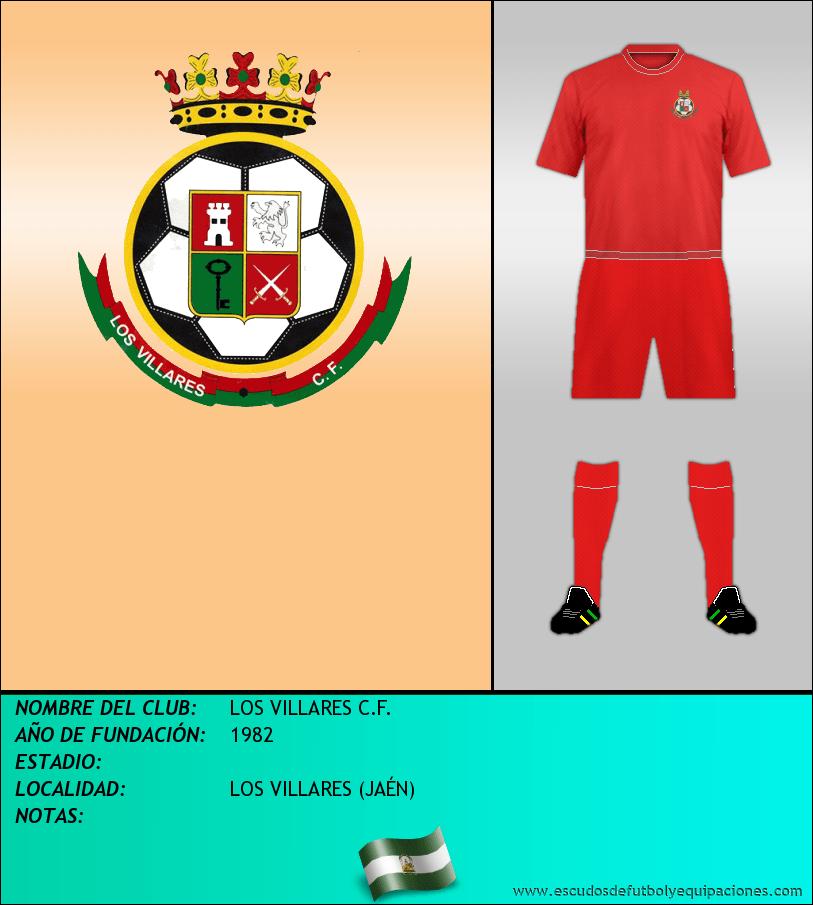 Escudo de LOS VILLARES C.F.