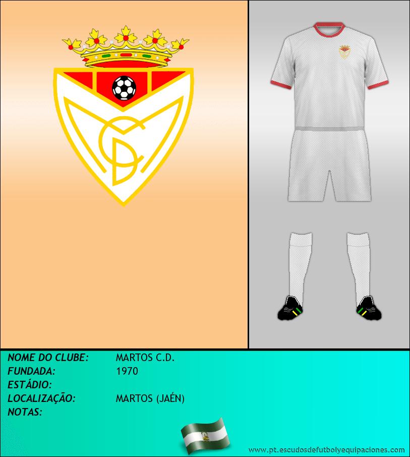 Escudo de MARTOS C.D.