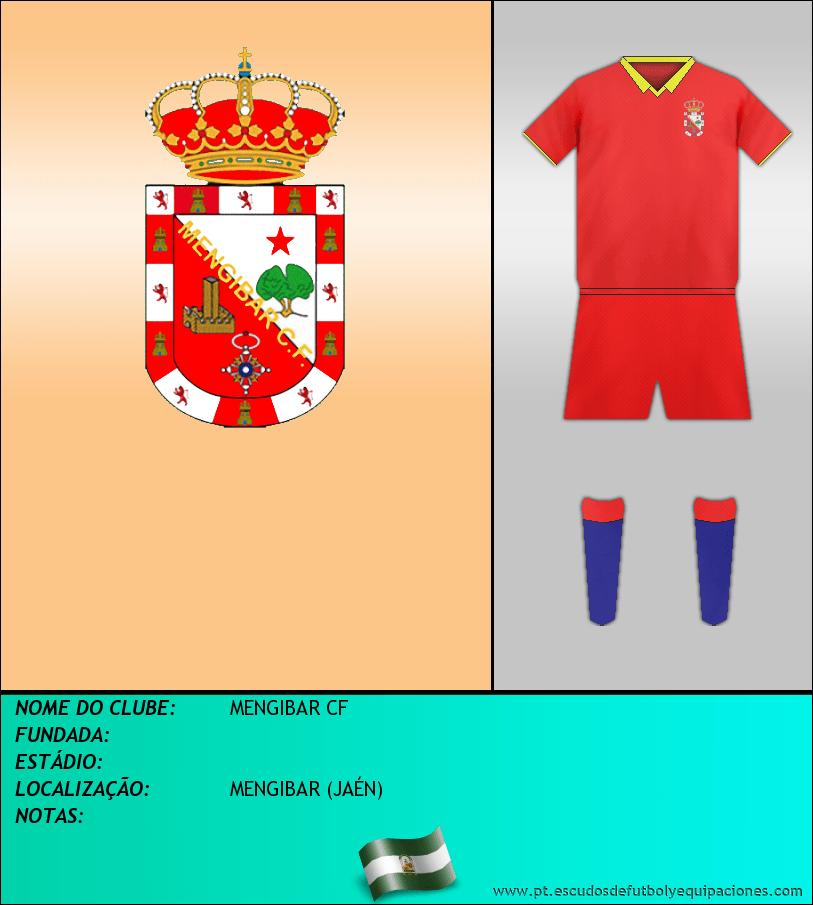 Escudo de MENGIBAR CF