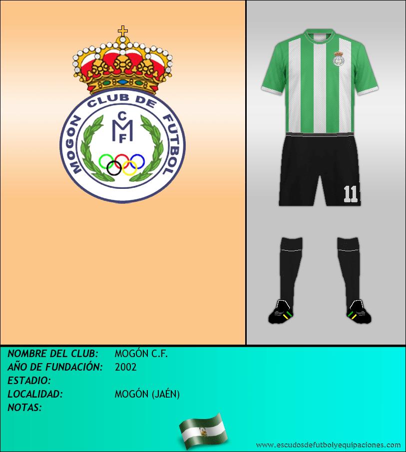 Escudo de MOGÓN C.F.