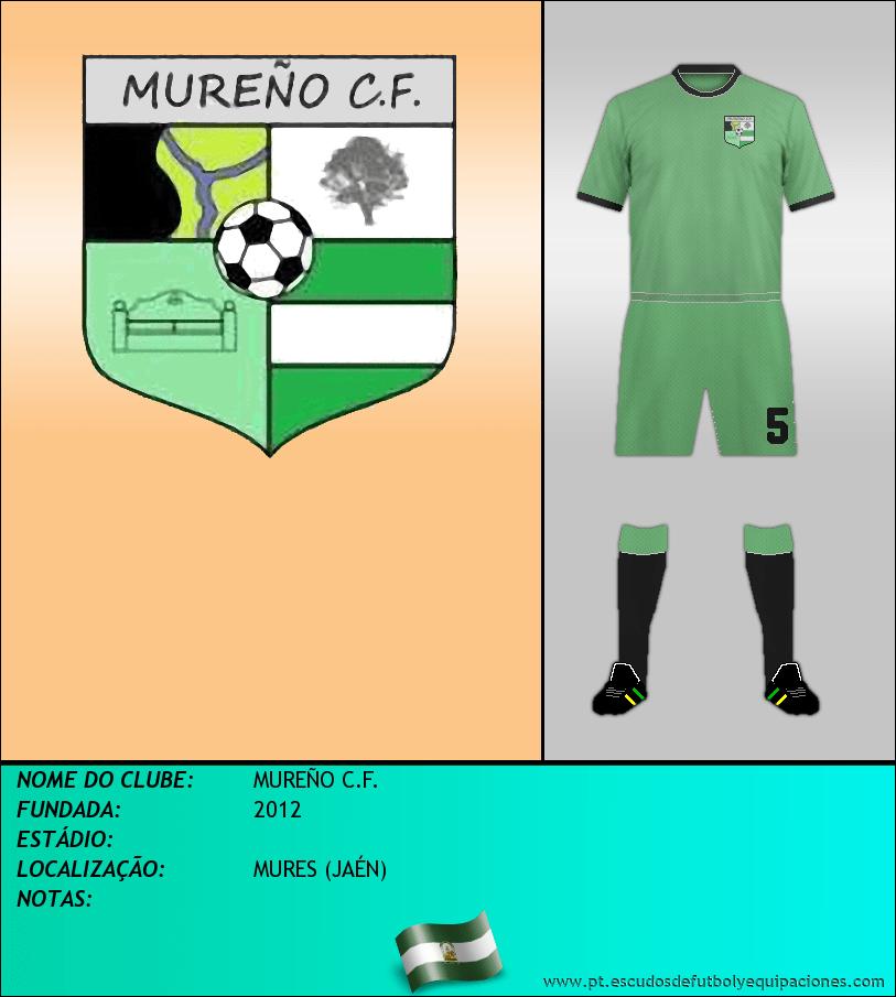 Escudo de MUREÑO C.F.