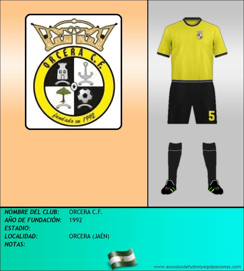 Escudo de ORCERA C.F.
