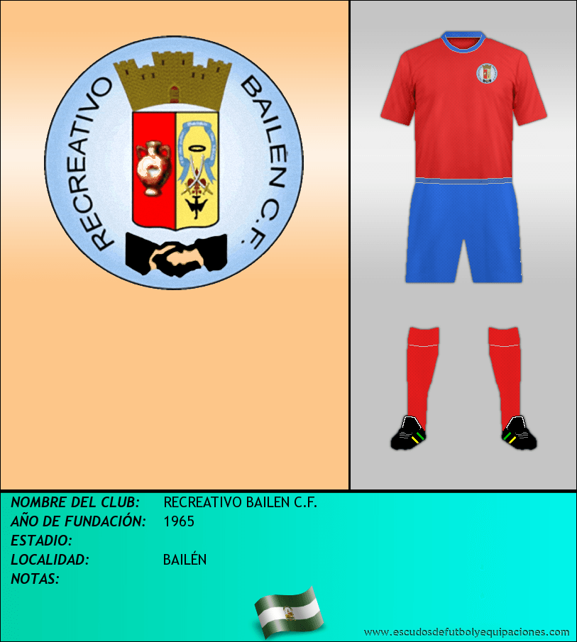 Escudo de RECREATIVO BAILEN C.F.