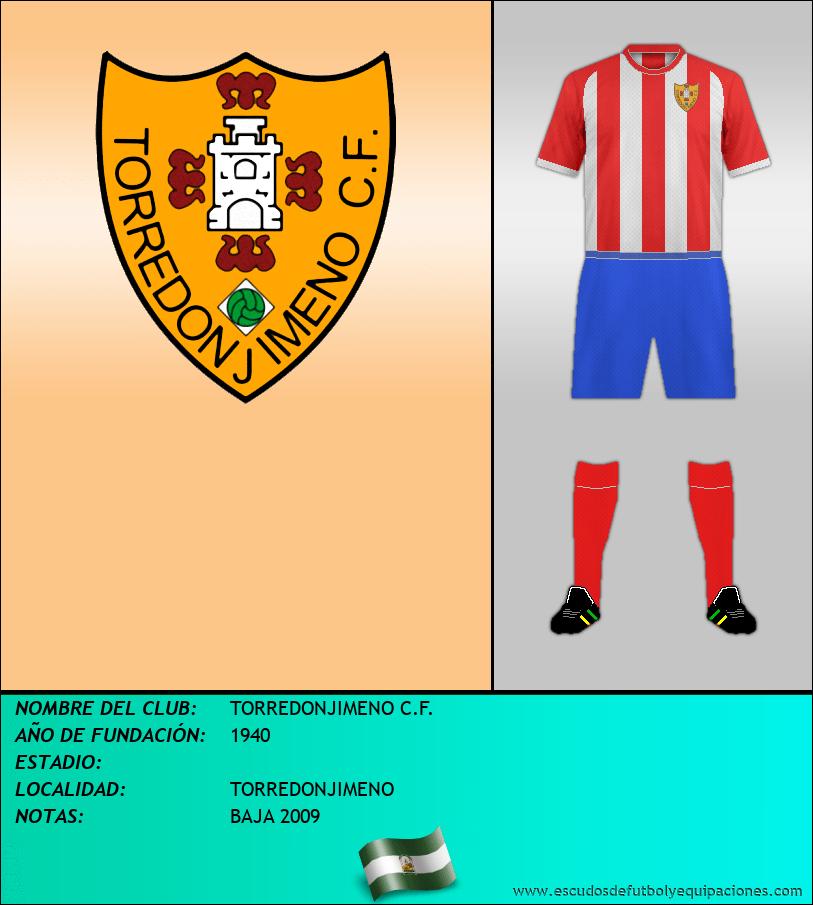 Escudo de TORREDONJIMENO C.F.