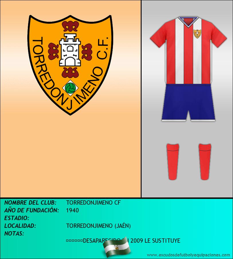 Escudo de TORREDONJIMENO CF