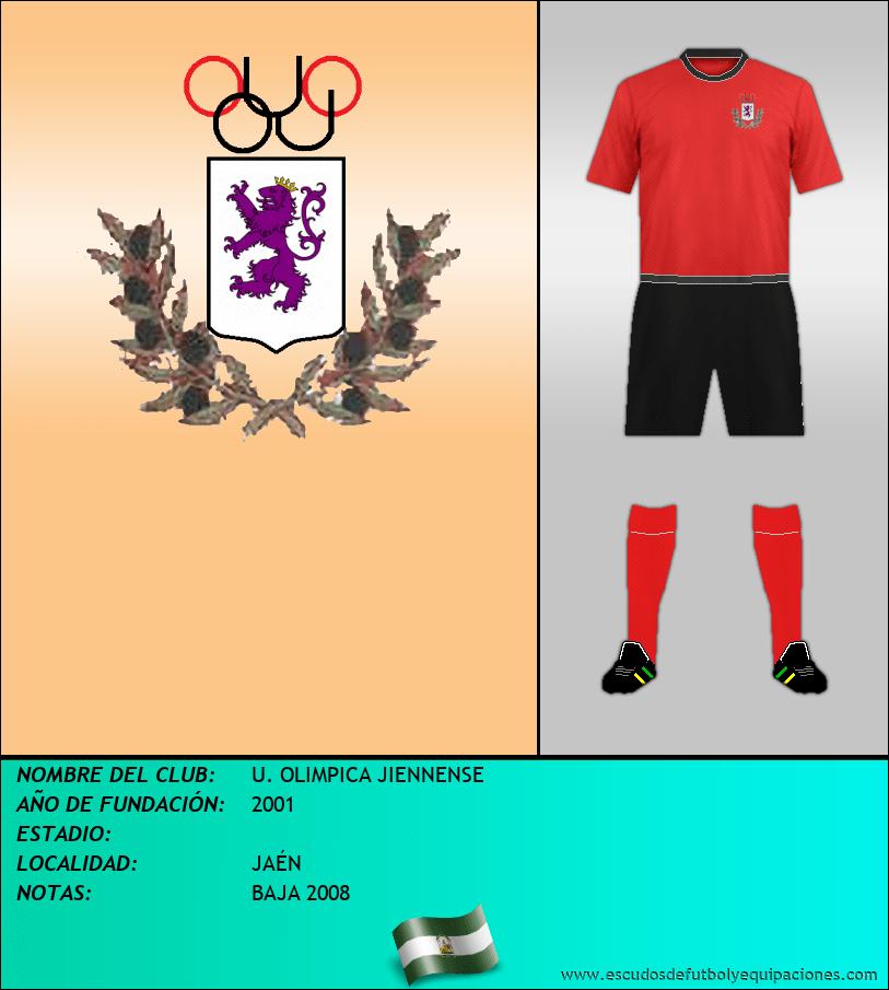 Escudo de U. OLIMPICA JIENNENSE