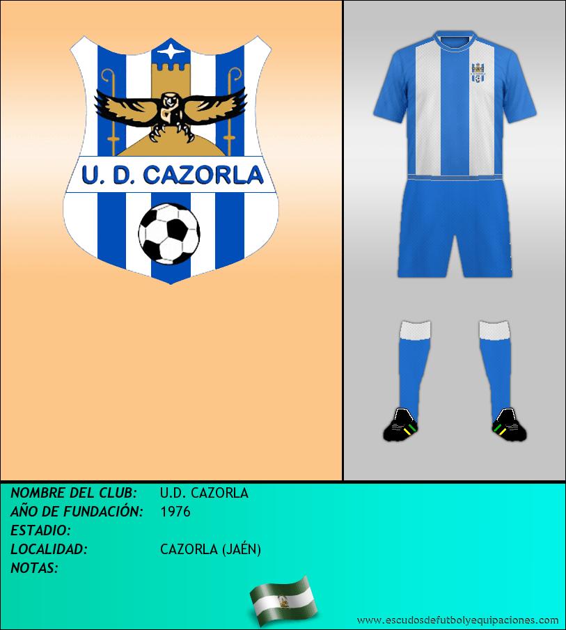 Escudo de U.D. CAZORLA