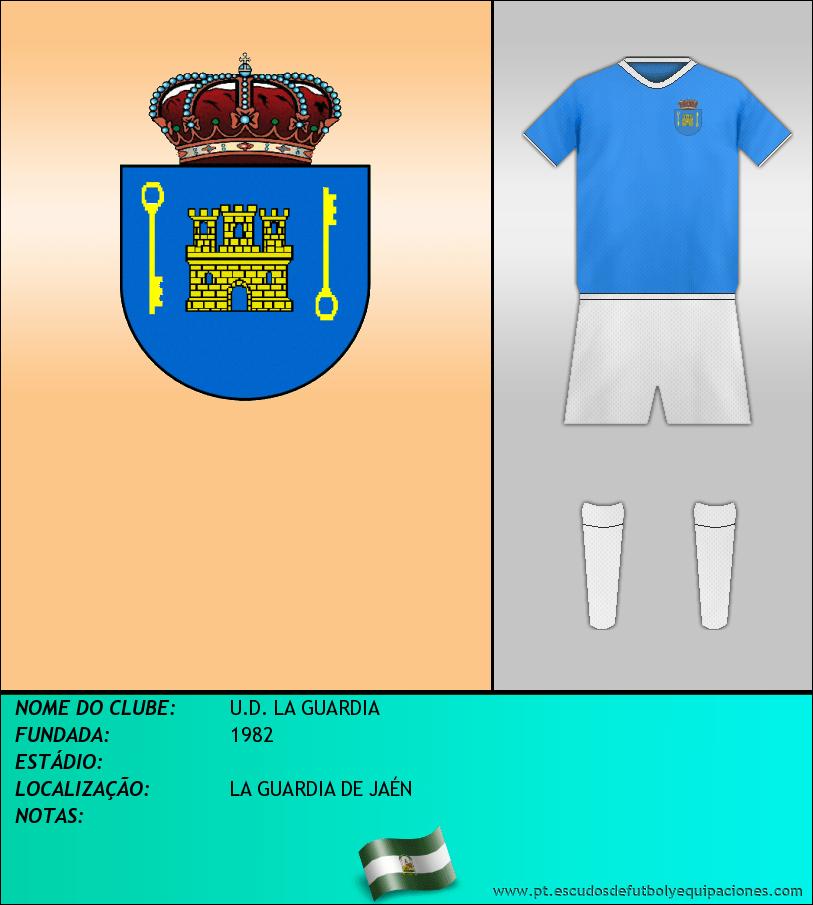 Escudo de U.D. LA GUARDIA