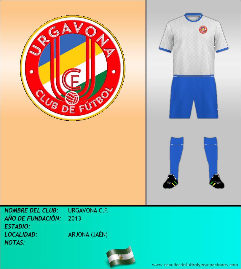 Escudo de URGAVONA C.F.
