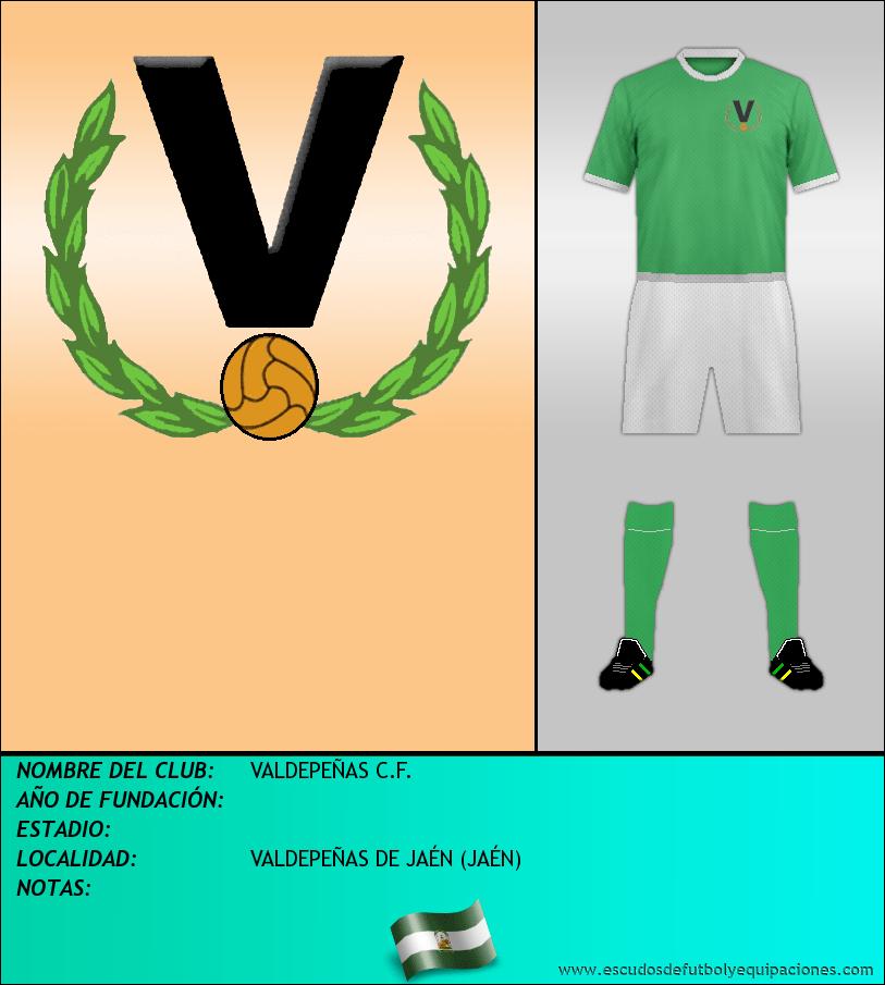 Escudo de VALDEPEÑAS C.F.