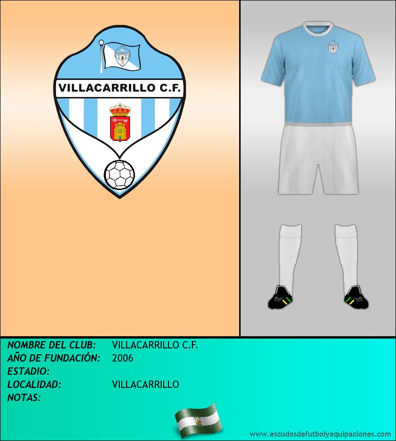 Escudo de VILLACARRILLO C.F.