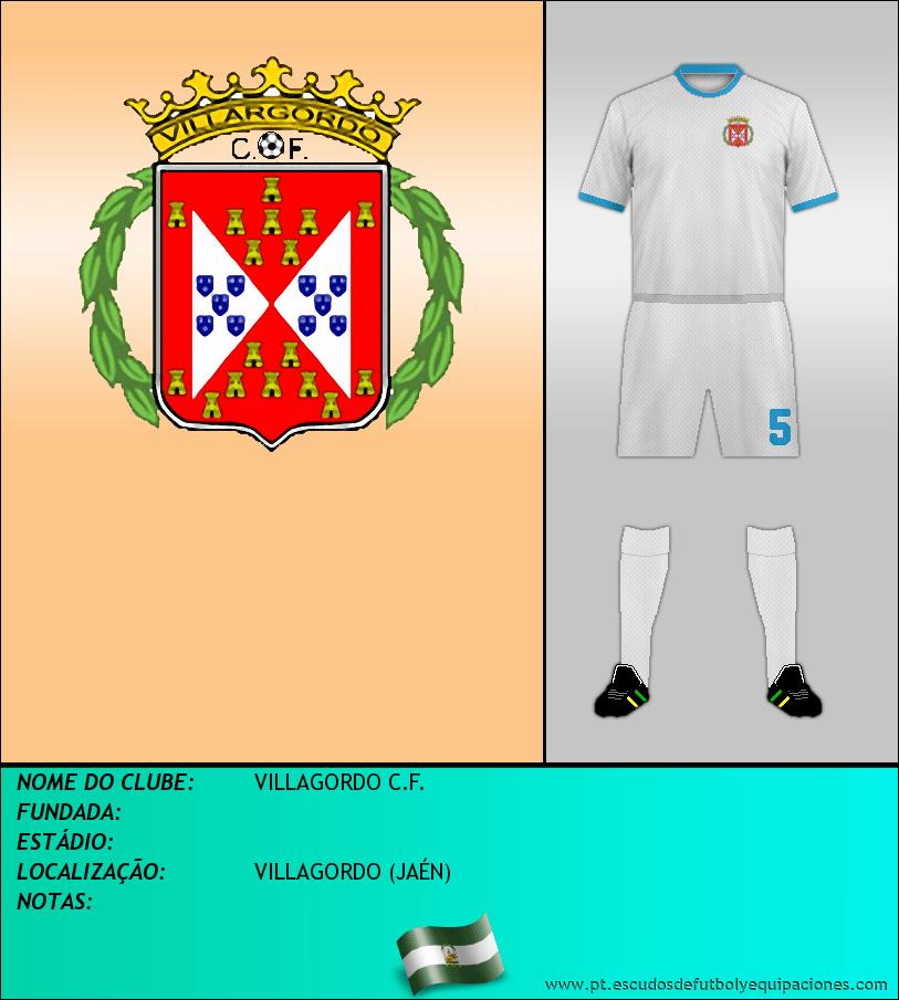 Escudo de VILLAGORDO C.F.