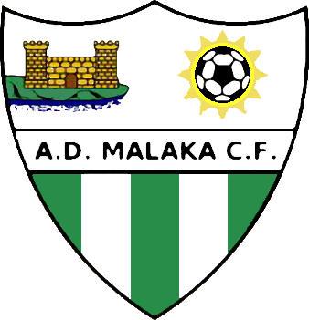 Escudo de A.D. MALAKA C.F. (ANDALUZIA)