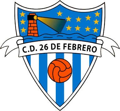 Escudo de C.D. 26 DE FEBRERO (ANDALUCÍA)