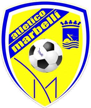 Escudo de C.D. ATLÉTICO MARBELLÍ (ANDALUZIA)