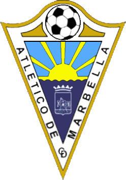 Escudo de C.D. ATLÉTICO MARBELLA BALOMPIÉ (ANDALUCÍA)