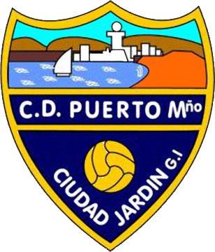 Escudo de C.D. PUERTO MALAGUEÑO (ANDALUZIA)