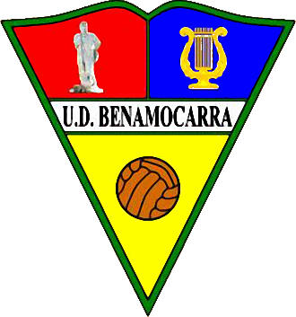 Escudo de U.D. BENAMOCARRA (ANDALUZIA)