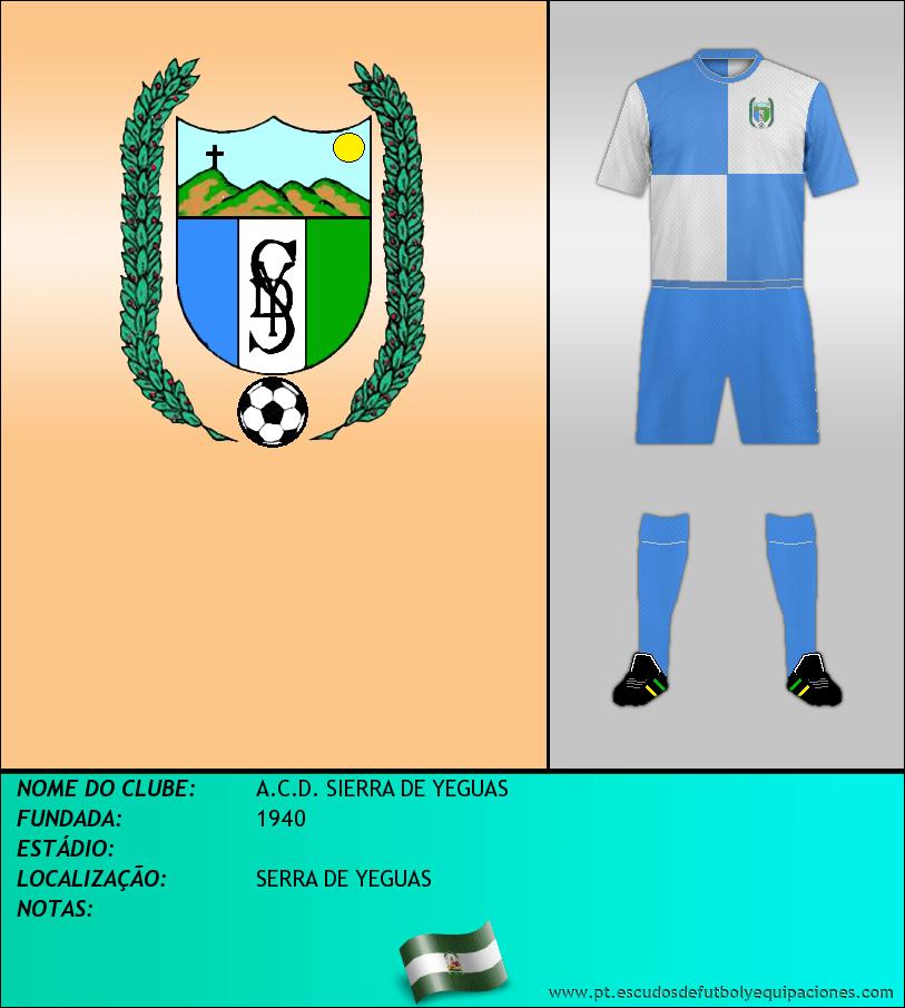 Escudo de A.C.D. SIERRA DE YEGUAS