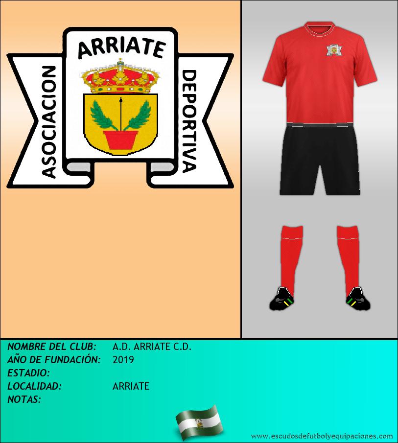 Escudo de A.D. ARRIATE C.D.