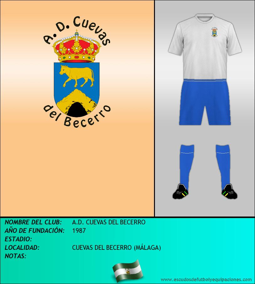 Escudo de A.D. CUEVAS DEL BECERRO