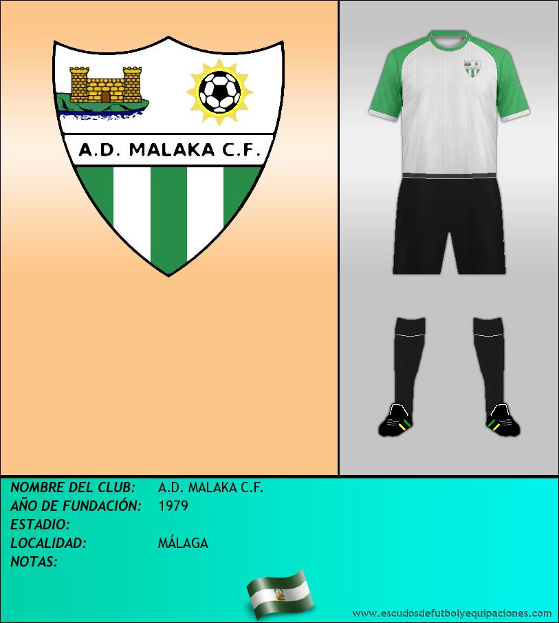 Escudo de A.D. MALAKA C.F.