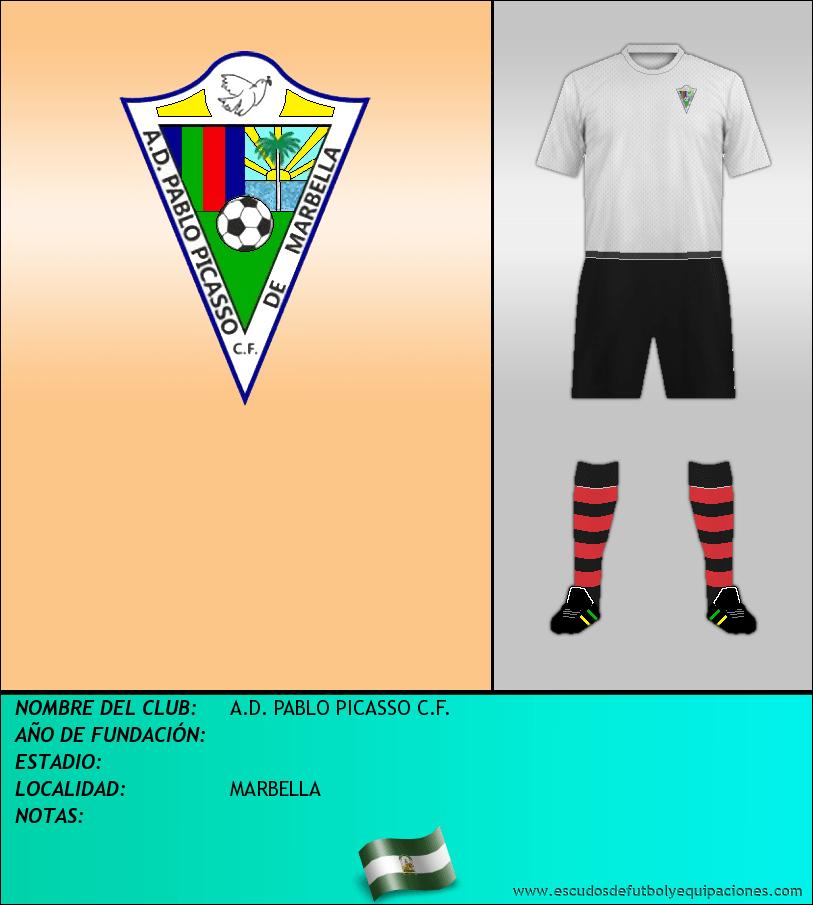Escudo de A.D. PABLO PICASSO C.F.