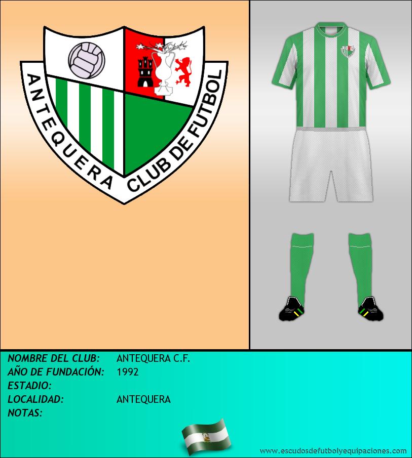Escudo de ANTEQUERA C.F.