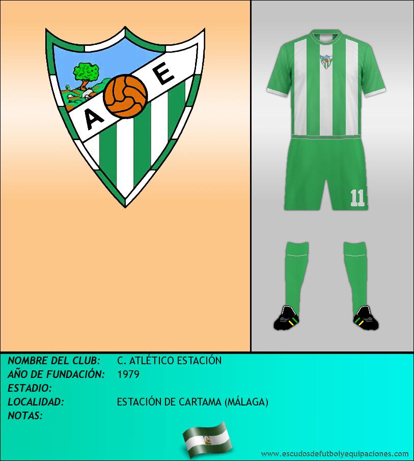 Escudo de C. ATLÉTICO ESTACIÓN