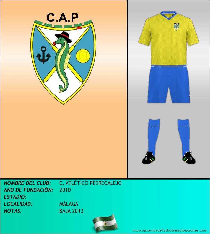 Escudo de C. ATLÉTICO PEDREGALEJO