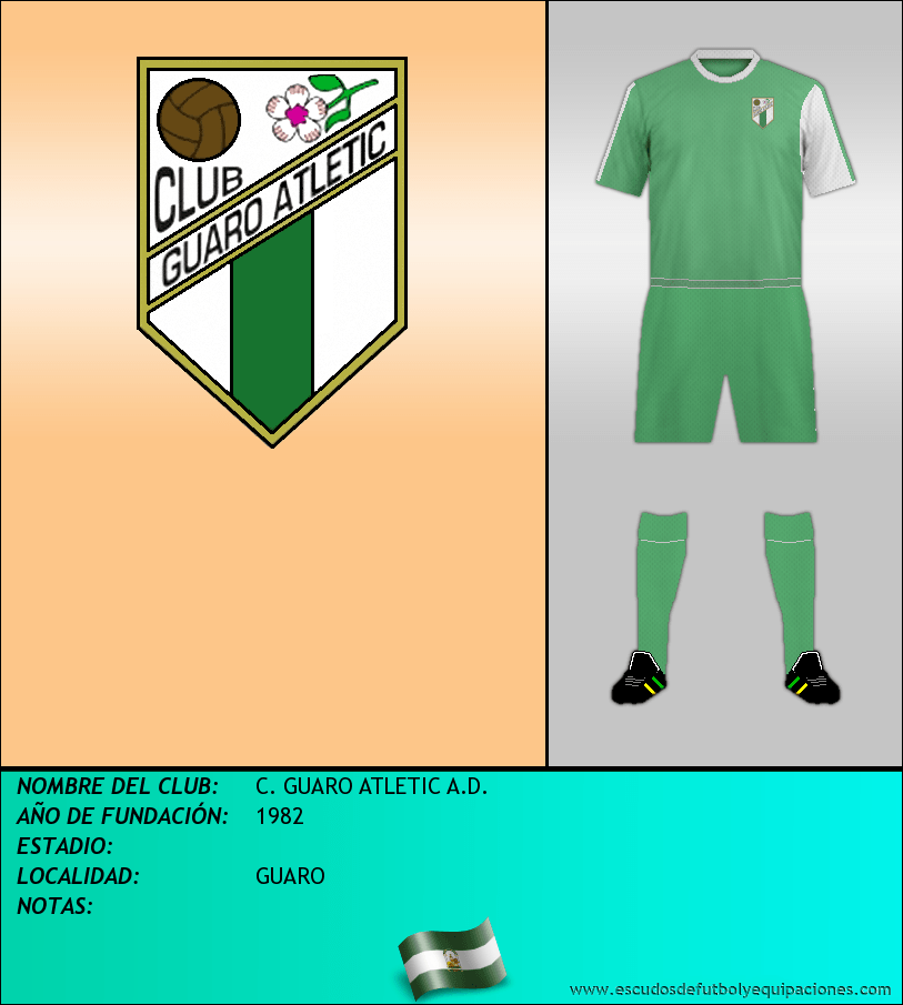 Escudo de C. GUARO ATLETIC A.D.