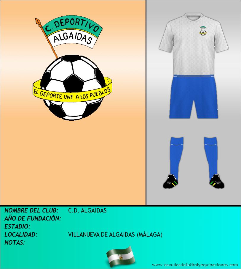 Escudo de C.D. ALGAIDAS