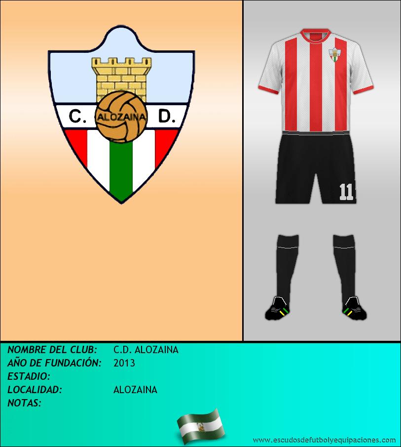 Escudo de C.D. ALOZAINA