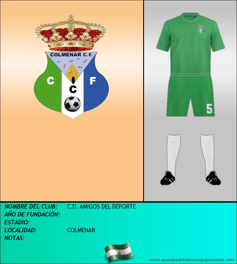 Escudo de C.D. AMIGOS DEL DEPORTE